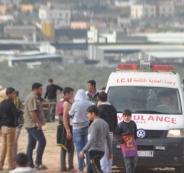 اصابة شاب برصاص الاحتلال وسط قطاع غزة
