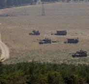 الحدود الفلسطينية السورية