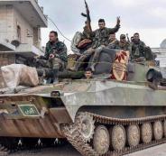 ترامب والقوات السورية في ادلب