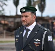 اصابة قائد حرس الحدود الاسرائيلي بفيروس كورونا