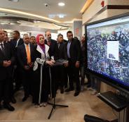افتتاح دار بلدية رام الله