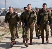 نجاة قائد الجيش الاسرائيلي