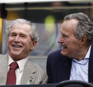جوربج بوش الاب والأبن
