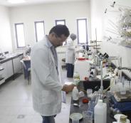 احد مختبرات جامعة النجاح