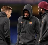 ديمبلي لا يحظى بثقة مدرب برشلونة