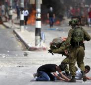 تعذيب فلسطينيين من قبل جيش الاحتلال