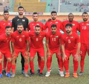 المنتخب الفلسطيني وبنغلاديش