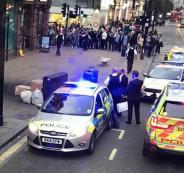 اخلاء شارع في اكسفورد