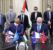 البنك الدولي والحكومة الفلسطينية
