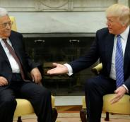 عباس والاتصالات مع الجانب الامريكي