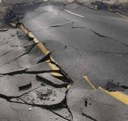 الزلزال في فلسطين