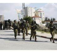 اعتقال فلسطينيين في البيرة