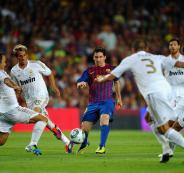 ميسي ريال مدريد
