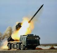راجمات صواريخ جنوب سوريا