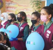 عودة الطلاب الى المدارس الفلسطينية