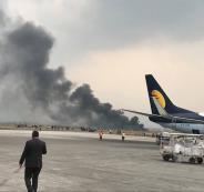 تحطم طائرة ركاب بنغلادشية أثناء هبوطها في نيبال