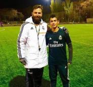 ريال مدريد يتعاقد مع اللاعب بسام محاميد