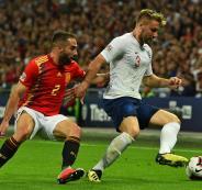 المنتخب الاسباني والمنتخب الانجليزي في دوري الامم الاوروبية