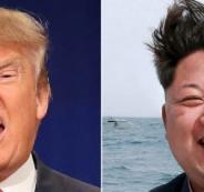 الزعيم الكوري الشمالي وترامب