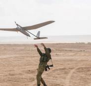 اسقاط طائرة استطلاع اسرائيلية في سوريا
