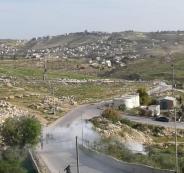 جيش الاحتلال يهاجم مدرسة تقوع الثانوية