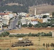 آليات الاحتلال تتمركز على مشارف قريتي تياسير والعقبة في الأغوار الشمالية