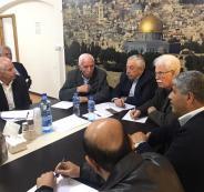 اجتماع لقيادة حركة فتح في رام الله