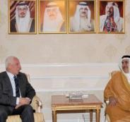 عزام الاحمد ورئيس مجلس النواب البحريني