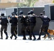 داخلية غزة واطلاق النار في التوجيهي