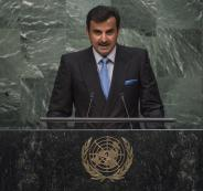 أمير قطر في الامم المتحدة