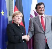 امير قطر في المانيا