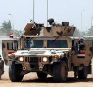 الجيش المصري يعلن تمكنه من قتل 3 عناصر شديدي الخطورة في سيناء