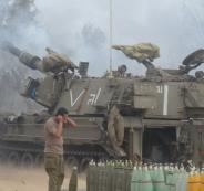 المدفعية الاسرائيلية تقصف هدفا في غزة