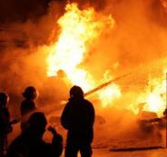 شاحن جوال يتسبب بحريق في طولكرم