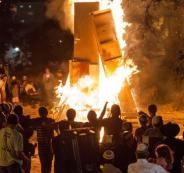محاولة احراق مسجد جنوب الخليل
