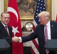 اردوغان والعقوبات الامريكية على تركيا