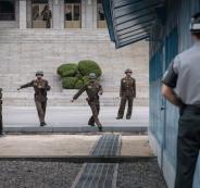 انشقاق جندي كوري شمالي