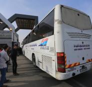 سلطات الاحتلال تفرض عقوبات على 14 شركة للباصات