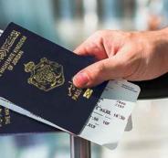 جواز سفر الاردنيين في فلسطين