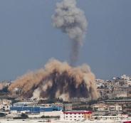 تفجير عبوة ناسفة بدورية اسرائيلية على  حدود غزة