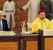 عباس والملك السادس وفلسطين