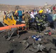 وفاة المصاب الوحيد بحادث السير المروع شرق رام الله ليرتفع عدد الضحايا إلى 7