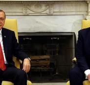 ترامب اردوغان وسوريا