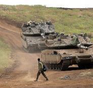 الجيش الاسرائيلي ينشر قواته في غور الاردن