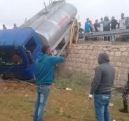 حوادث سير بالضفة الغربية