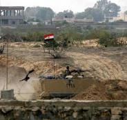 الجيش المصري يعلن تدمير نفقين على حدود غزة اليوم