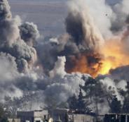ضربة امريكية للنظام السوري