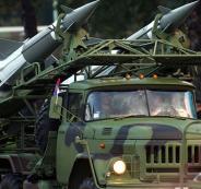 اسقاط صواريخ في سوريا