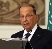 الرئيس اللبناني في العراق