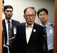 الرئيس الكوري الجنوبي والفساد